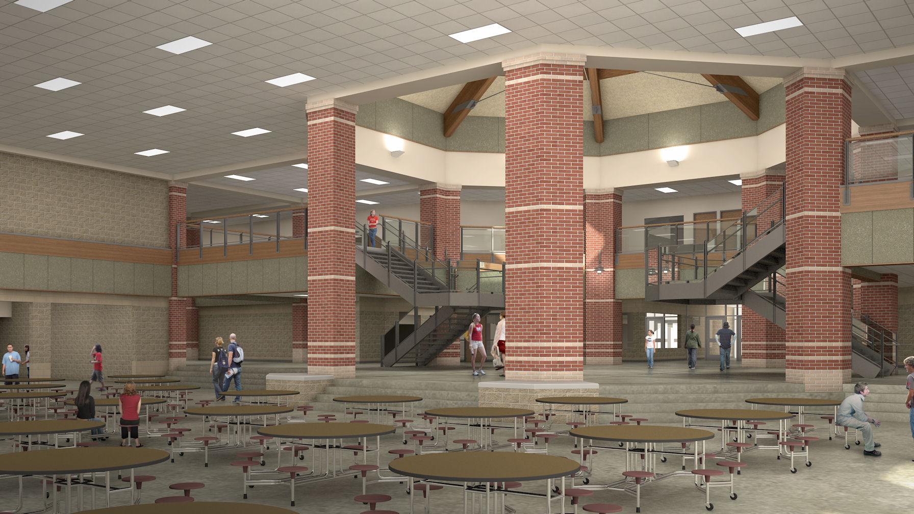 High School Design Brick